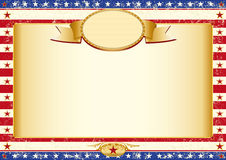 Amerikanerkraftpapier-Plakat Stockfoto