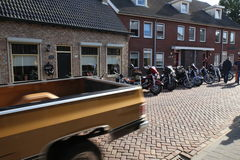 Amerikanertag im lepelstraat in den Niederlanden stockfoto