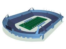 AmerikanFoodball stadion Arkivfoton