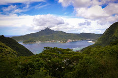 Amerikanisch-Samoa-Fotos Pago Pago Stockbild
