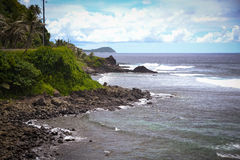 Amerikanisch-Samoa-Fotos Pago Pago lizenzfreies stockbild