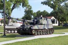AMERIKANISCHE Armee-Feld-Artillerie-Museum stockbilder
