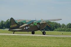 AMERIKANISCHE Armee-Flugzeuge der Heuschrecken-L2 Lizenzfreie Stockfotos