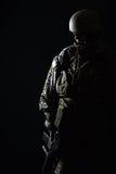 AMERIKANISCHE Armee-grünes Barett Lizenzfreie Stockfotos