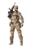AMERIKANISCHE Armee-grünes Barett Lizenzfreies Stockbild