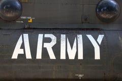 AMERIKANISCHE Armee-Hubschrauber-Detail Stockfotos