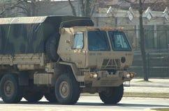 Amerikanische Armee in Polen Lizenzfreie Stockfotografie