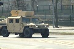Amerikanische Armee in Polen Stockbild