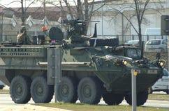 Amerikanische Armee in Polen Stockfotografie