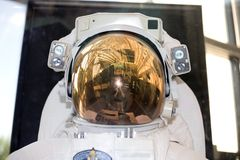 Amerikanische Astronauten-Platz-Klage Stockfotografie