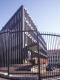 Amerikanische Botschaft, Oslo, Norwegen Lizenzfreies Stockfoto