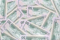Amerikanische Dollar Banknotenhintergrund Stockbild