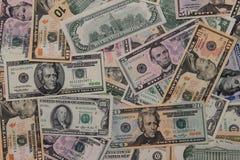 Amerikanische Dollar Hintergrund Lizenzfreies Stockbild