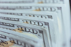 Amerikanische Dollar Hundert Dollar-Banknoten, 100 Lizenzfreie Stockfotos
