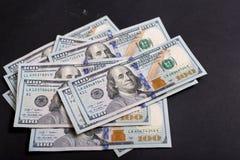 Amerikanische Dollar von Schatz und von Zentralbank Vereinigter Staaten mit Porträts von USA-Präsidenten Lizenzfreie Stockfotografie