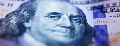 Amerikanische Dollar von Schatz und von Zentralbank Vereinigter Staaten mit Porträts von USA-Präsidenten Lizenzfreie Stockbilder