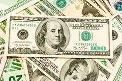 Amerikanische Dollarscheine Stockbilder