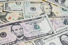 Amerikanische Dollarscheine, Gebrauch für Hintergrund Stockfotografie