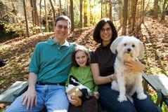 Amerikanische Familie Stockbild