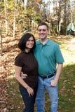 Amerikanische Familie Lizenzfreie Stockbilder