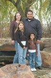 Amerikanische Familie stockfotografie