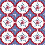 Amerikanische farbige Sternchen-Vereinbarung lizenzfreie abbildung