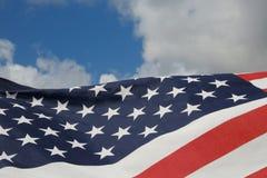 Amerikanische Flagge stockfoto
