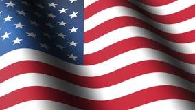 Amerikanische Flagge stock footage