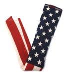 Amerikanische Flagge in Form von V-Zeichen Lizenzfreies Stockbild