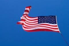 Amerikanische Flagge (Sternenbanner) Lizenzfreies Stockfoto