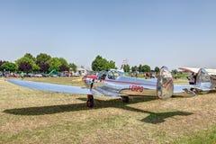 Amerikanische Flugzeuge Erco Ercoupe 415D der Weinlese Stockfoto