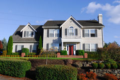 Amerikanische Haus-Serie III Lizenzfreie Stockfotografie