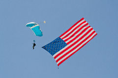 Amerikanische Held-Flugschau - L.A. 2013 Stockfotos