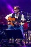 Amerikanische Jazzfusion und lateinische Jazzgitarrist Al Di Meola-Ausführung Live bei Nisville Jazz Festival, am 11. August 2016 Stockfotos