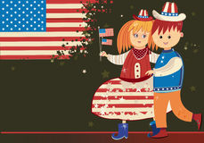 Amerikanische Kinder Lizenzfreies Stockbild