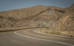 Amerikanische Kurvenstraße Lizenzfreie Stockfotografie