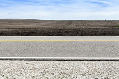 Amerikanische Land-Straße Lizenzfreie Stockfotografie