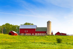 Amerikanische Landschaft lizenzfreie stockbilder