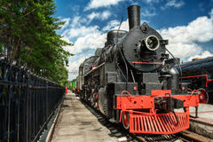 Amerikanische Lokomotive EA 3078 Stockfotografie