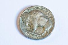 Amerikanische Münzen Einige sind alt historisch Lizenzfreies Stockfoto