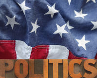 Amerikanische Politik Lizenzfreie Stockfotos