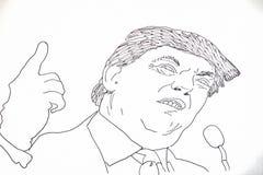 Amerikanische Politiker Lizenzfreie Stockbilder