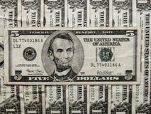 Amerikanische Rechnungen Lizenzfreie Stockfotos