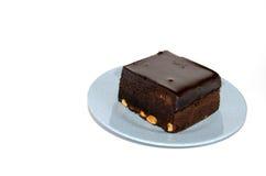 Amerikanische Schokoladenkuchen Stockfotos