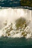 Amerikanische Seite von Niagara Falls Stockbilder