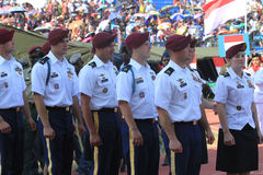 Amerikanische Soldaten Lizenzfreie Stockfotos