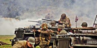 Amerikanische Soldaten, Lizenzfreies Stockfoto