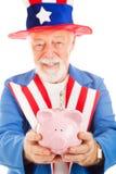 Amerikanische Sparungen Lizenzfreie Stockfotos