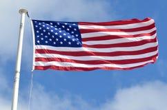 Amerikanische Staatsflagge Lizenzfreies Stockfoto