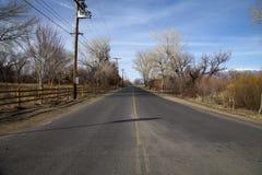 Amerikanische Straße Stockfotografie